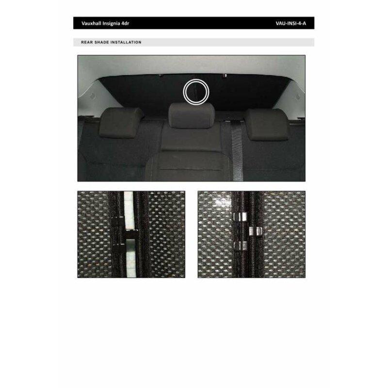 sonnenschutz opel insignia 4 t rer bj ab 2009 4 teilig 99 90. Black Bedroom Furniture Sets. Home Design Ideas